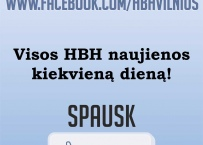 HBH jau ir facebook'e